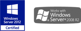 Certified for Windows Server 2012 - Web shop for Navision