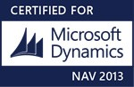 Certified for Microsoft Dynamics Logo